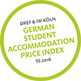 German Student Accommodation Price Index 2016